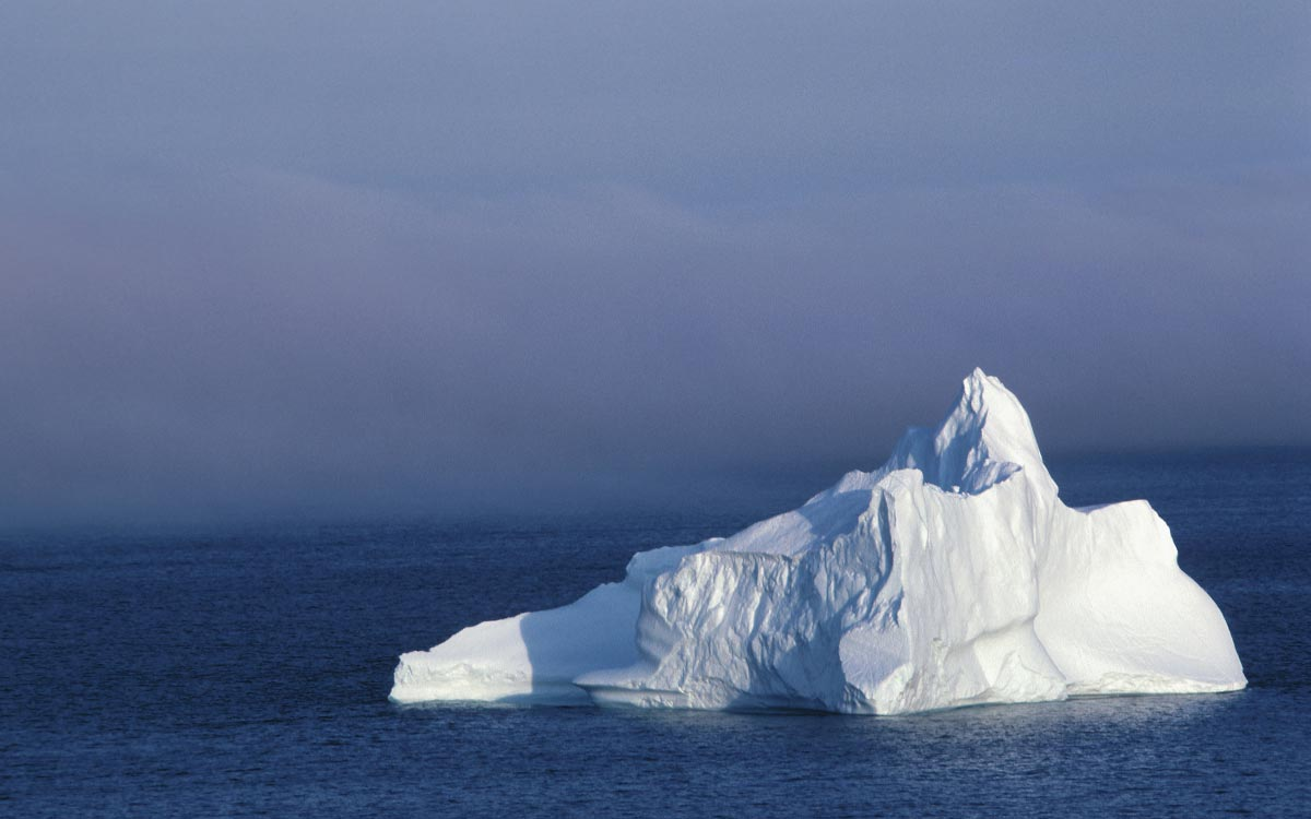 Iceberg-Floating-Ice-Water